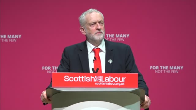 Jeremy Corbyn speech Jeremy Corbyn speech SOT A society that cares for our public NHS offering healthcare as a human right to all This is the vision...