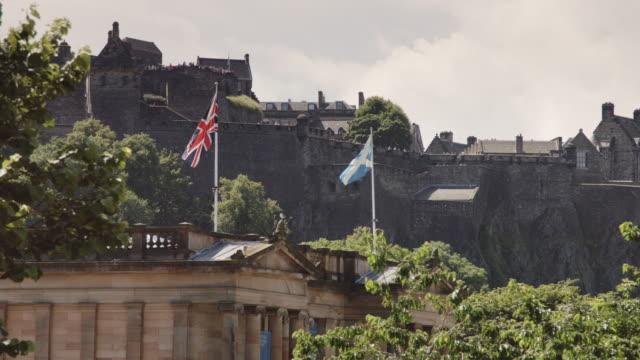 Scottish National Gallery and Edinburgh Castle