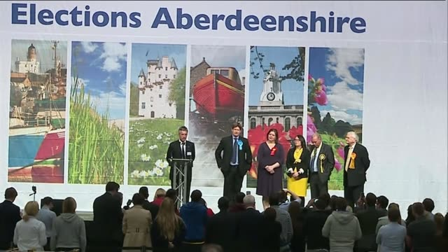 results ruth davidson msp press conference sot many thousands of people who backed me and my team last night are not died in the wool conservatives... - holyrood bildbanksvideor och videomaterial från bakom kulisserna