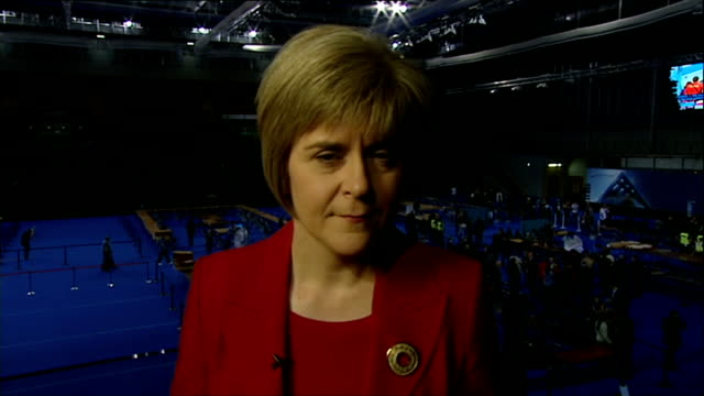 itv news special clean feed 0500 0600 scotland nicola sturgeon msp interview sot i won't concede just yet we have a few results to come there have... - 2014 scottish independence referendum stock videos & royalty-free footage