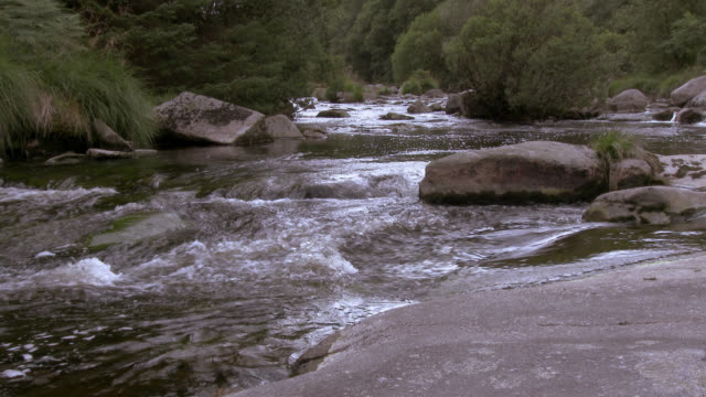 Scottish river in a rural setting