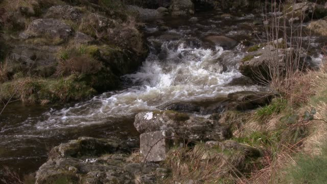 Schottischer Fluss in Dumfries und Galloway im Südwesten Schottlands