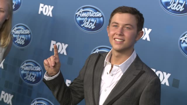 Scotty McCreery at the Fox's 'American Idol 2011' Finale Results Show at Los Angeles CA