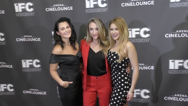 Scout Taylor Compton Landry Allbright Renee Olstead at the Feral Premiere at Arena Cinelounge in Hollywood in Celebrity Sightings in Los Angeles