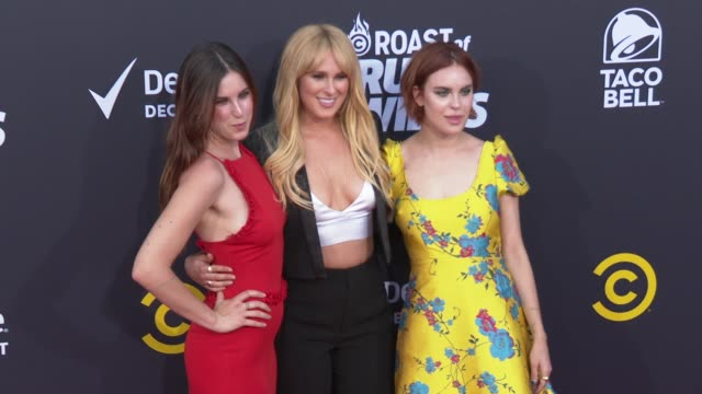 scout willis, rumer willis and tallulah willis at the comedy central roast of bruce willis at hollywood palladium on july 14, 2018 in los angeles,... - tallulah belle willis stock videos & royalty-free footage
