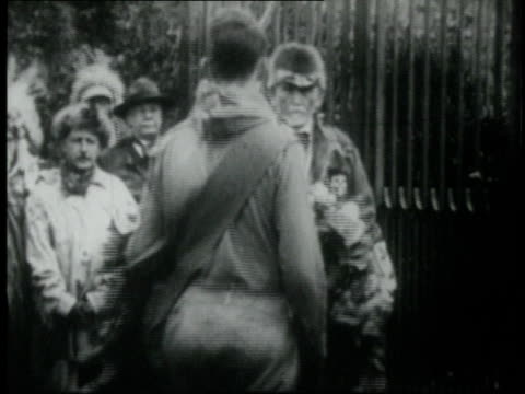 1920 montage scouts laying wreaths at teddy roosevelt's grave / washington d.c., united states - boy scout stock videos and b-roll footage