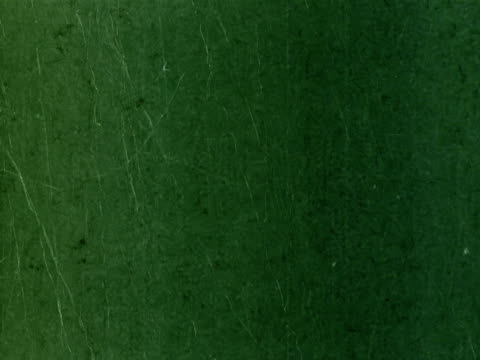 Scratched Film Countdown Leader Intro with audio- Green. NTSC,PAL