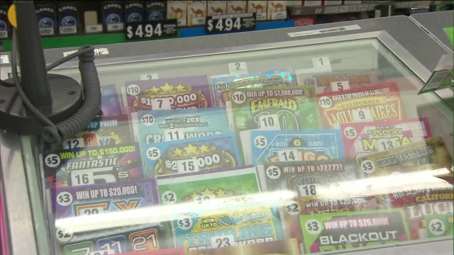 scratch-off lotto tickets - rubble stock-videos und b-roll-filmmaterial