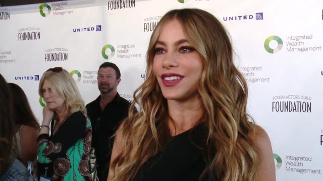 CLEAN Screen Actors Guild Foundation Kicks Off 30th Anniversary Honors Sofia Vergara With Actors Inspiration Award At 6th Annual Los Angeles Golf...