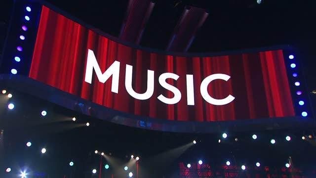 screen - billboard music awards 2014 - rehearsals day 2 on may 17, 2014 in las vegas, nevada. - atmosfär råmaterial bildbanksvideor och videomaterial från bakom kulisserna