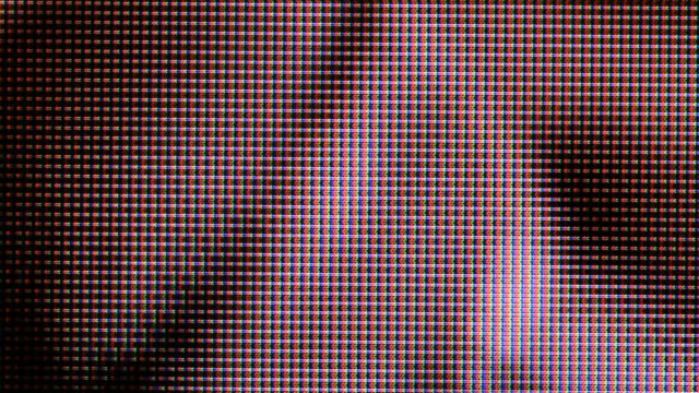 tv screen close up - device screen stock videos & royalty-free footage