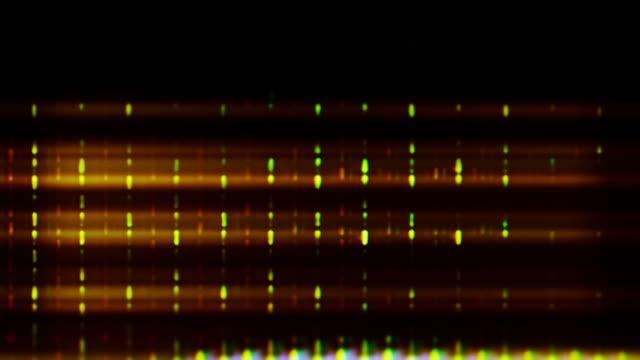 vidéos et rushes de tv screen pixels fluctuate with color and video motion (loop). - pixellisation
