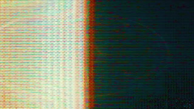 TV screen pixels (Loop).