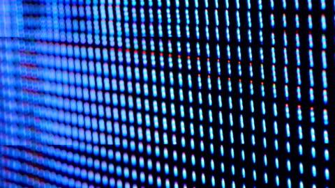 stockvideo's en b-roll-footage met led scherm - omwalling