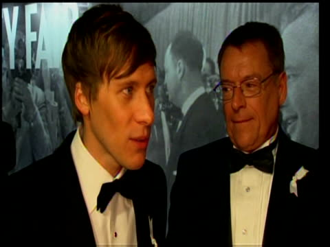 screenwriter dustin lance black on winning best screenplay oscar for milk at 81st annual academy awards los angeles; 22 february 2009 - scriptwriter stock videos & royalty-free footage