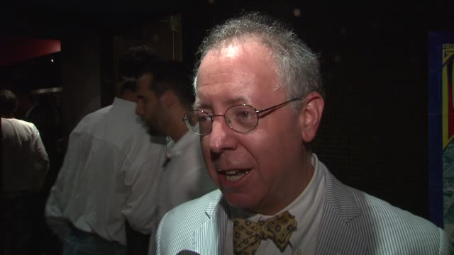 screenwriter/producer james schamus on determining the most accurate sources for researching the film. at the 'taking woodstock' new york premiere at... - 脚本家点の映像素材/bロール