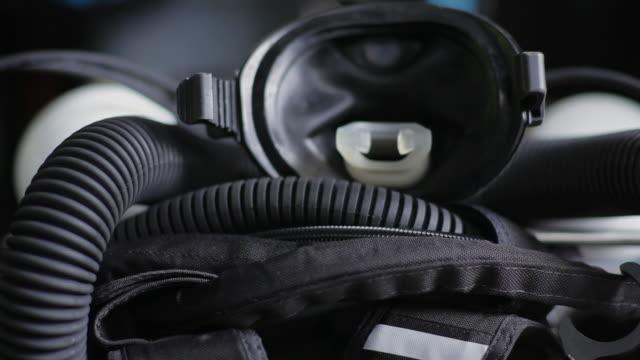 CU of scuba gear