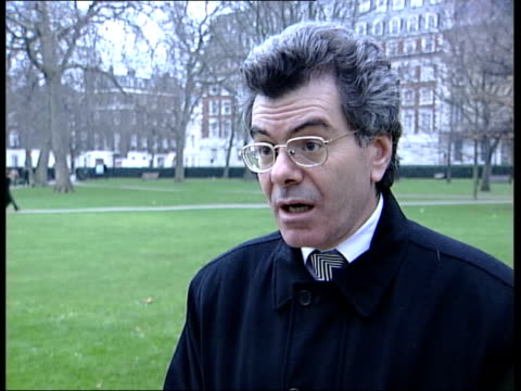 Scud missile shipment intercepted ENGLAND London Westminster Dr Gary Samore interview SOT No evidence that missiles are likely to fall inton the...