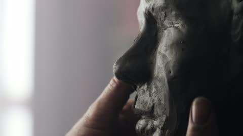 sculptor - sculpture stock videos & royalty-free footage