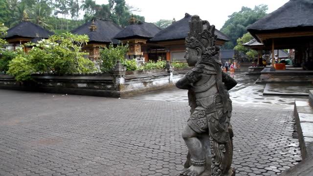 WS Sculpture At Pura Tirta Empul Temple