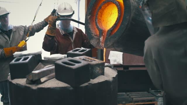 Sculpture - Bronze Pour - Art