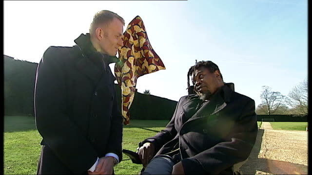 yinka shonibare exhibition at yorkshire sculpture park england west yorkshire wakefield yorkshire sculpture park int various of artist yinka... - batik stock videos and b-roll footage