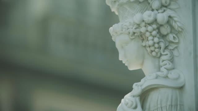 vidéos et rushes de sculptures de la piazza della signoria de florence - statue