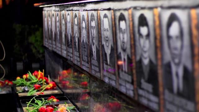 se cumplen 30 anos del peor accidente nuclear de la historia que causo segun estimaciones miles de muertos y contamino hasta tres cuartas partes de... - radiation stock videos and b-roll footage