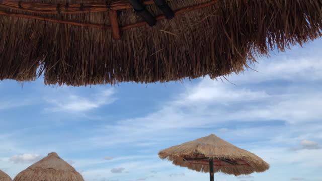 Sea and beach parasol umbrella