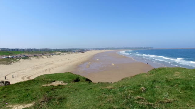 sea and beach - south shields stock videos & royalty-free footage