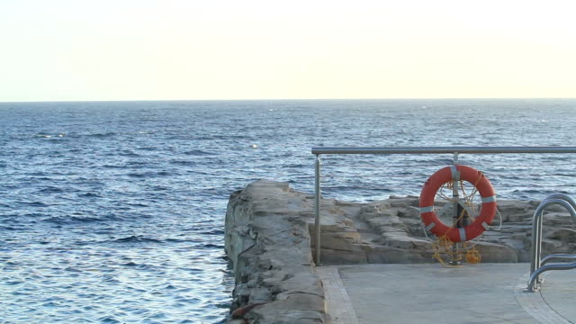 sea and life buoy - buoy stock videos and b-roll footage