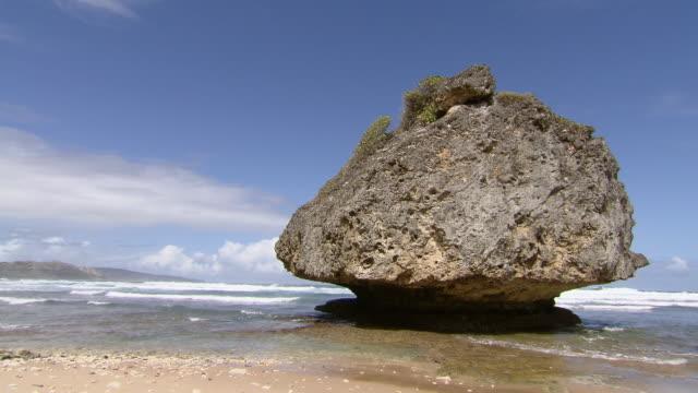 WS Sea and rock  / Brightown, Barbados