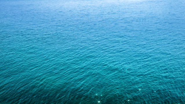 Sea and sun reflection