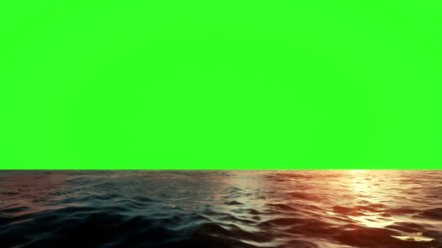sea animation green screen - rippled stock videos & royalty-free footage