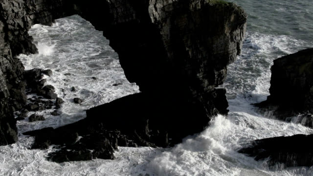 sea arch - limestone stock videos and b-roll footage