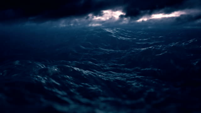 Sea at storm
