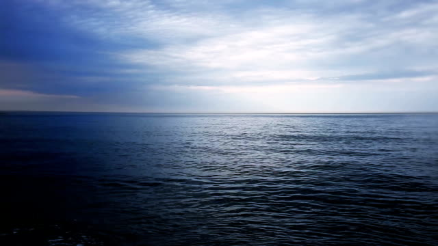 Sea at the evening