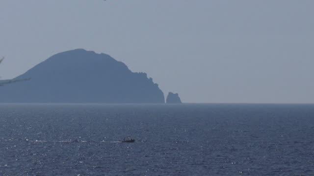 Meer Hintergrund von Vulcano Island
