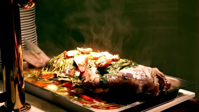 hd: sea bass barramundi - sea bass stock videos & royalty-free footage