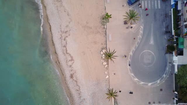 Sea coastline and beach
