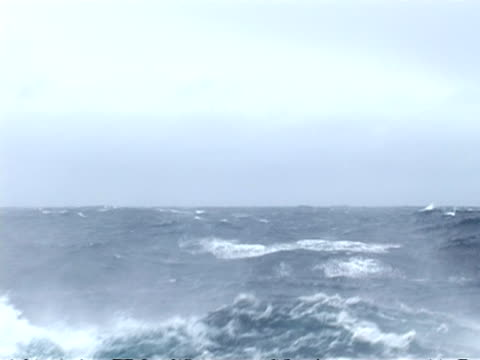 sea, drake passage - pov boat, rough sea, antarctica - drake passage stock videos and b-roll footage