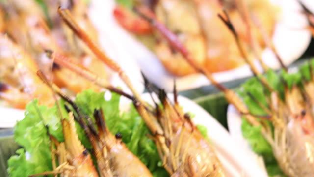 Sea food Grilled Shrimps