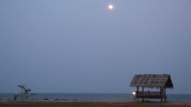 Havet i kväll med hembränt