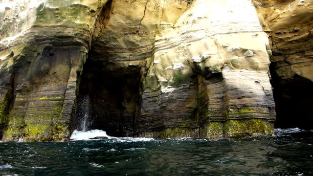 Sea kayaking the La Jolla Caves