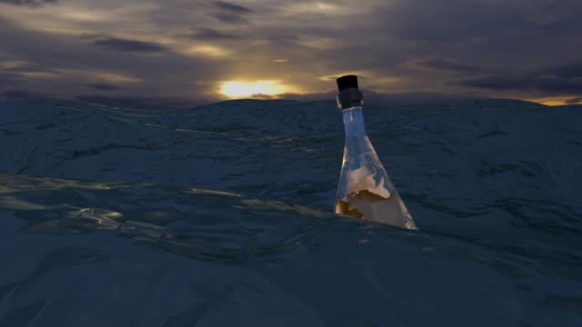 Sea Message in Bottle 2 -opening
