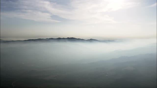 Sea Mist Near Villa Rosa  - Aerial View - Abruzzo, Provincia di Teramo, Martinsicuro, Italy