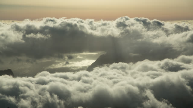 Sea of Clouds timelapse in Madeira, Portugal