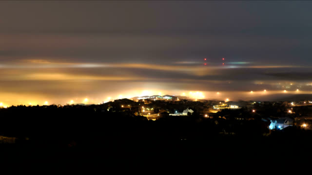 vídeos de stock e filmes b-roll de sea of fog, timelapse - rapid city