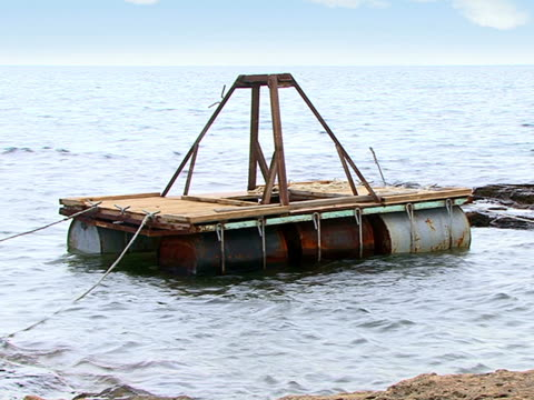 sea raft - french overseas territory stock videos and b-roll footage