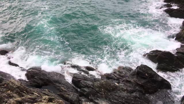 Sea & rocky coastline in Cinque terre